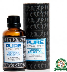 Pure Athlete Sports Muscle Relief Oil