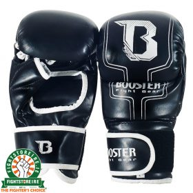 Booster FF 8 MMA Sparring Gloves - 6oz Black