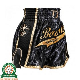 Booster PRO Muay Thai Shorts - Black/Gold