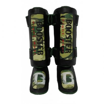 Booster Sparring Camo Shinguards
