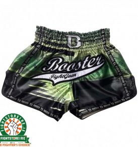 Booster Thai Boxing Trunks CHAOS 1 - Green