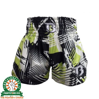 Booster Thai Boxing Trunks Sub 4 - Green