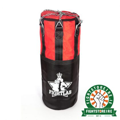 Fightlab 6ft Heavy Punch Bag - Black/Red