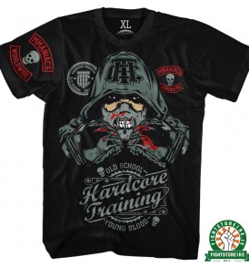 Hardcore-Training-MMAniacs-Tee---Black