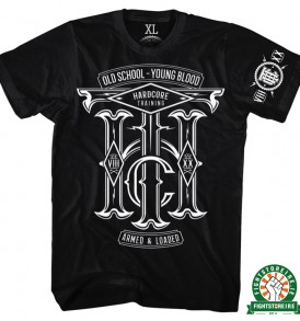 Hardcore Training Old School Tee - Black