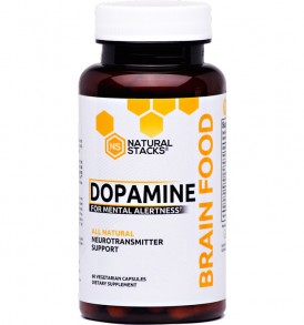 Natural Stacks Dopamine Brain Food - 60 Capsules