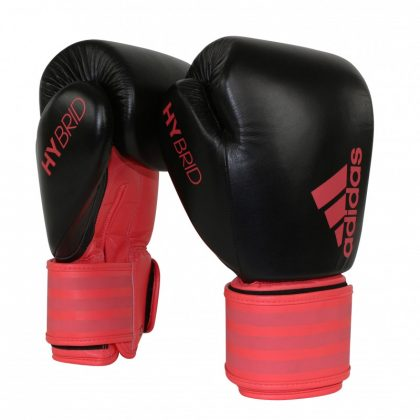 Adidas Hybrid 200 Boxing Gloves - Shock Red