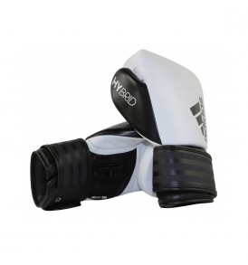 Adidas Hybrid 200 Boxing Gloves - White/Black