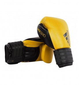 Adidas Hybrid 200 Boxing Gloves - Yellow/Black