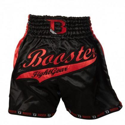 Booster PRO Muay Thai Shorts - Wine/Black