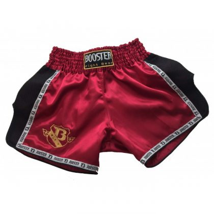 Booster PRO Muay Thai Shorts - Wine/Black