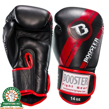 Booster V3 Thai Boxing Gloves - Black/Red