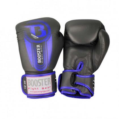 Booster V5 Thai Boxing Gloves - Grey/Blue