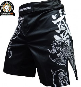 Hardcore Training Koi MMA Shorts - Black