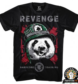 Hardcore Training Revenge Tee - Black