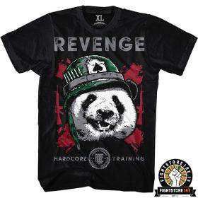 Hardcore Training Revenge Tee - Black