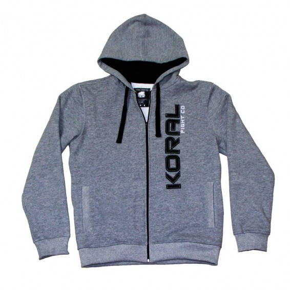 Koral Classic Hoodie - Grey and Navy