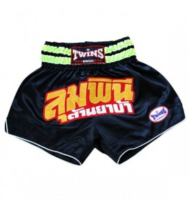 Twins Thai Boxing Shorts - Black/Gold
