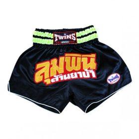 Twins Thai Boxing Shorts - Black/Gold