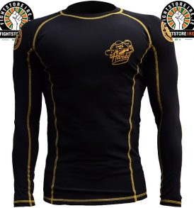 Hardcore Training Mr Hardy Rashguard - Black/Yellow