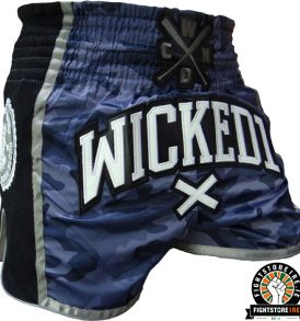 Wicked One x Hardcore Training Muay Thai Shorts - Camo