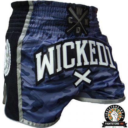Wicked One x Hardcore Training Muay Thai Shorts - Camo