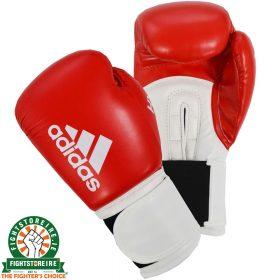 Adidas Hybrid 100 Boxing Gloves - Red/White