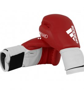 Adidas Hybrid 100 Boxing Gloves - Red/White
