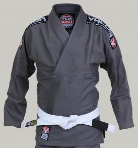 Valor Bravura BJJ Gi - Grey with Free White Belt