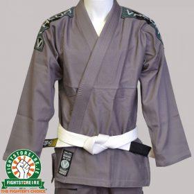Valor Bravura BJJ Gi - Grey with Free White Belt