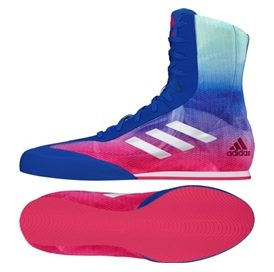 Adidas Box Hog Plus - Blue/Pink/White