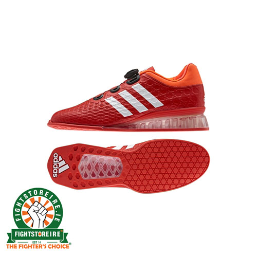 reputable site b19d7 33699 Adidas Leistung 16 Weightlifting Shoes – Red