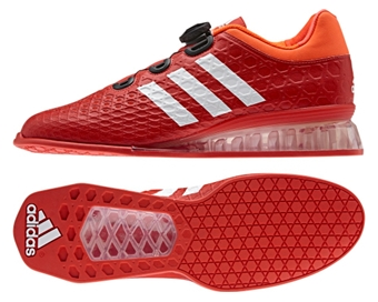Adidas Leistung 16 Weightlifting Shoes - Red