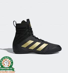 Adidas Speedex 18 Boxing Boots - Black