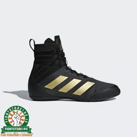 Adidas Speedex 18 Boxing Boots - Black