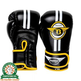 Booster Kids Elite Boxing Gloves - Gold