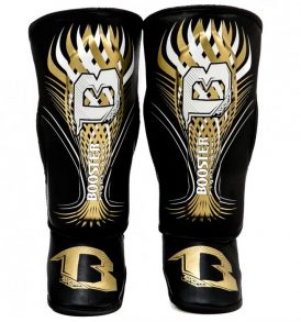 Booster Kids Shinguards - Gold