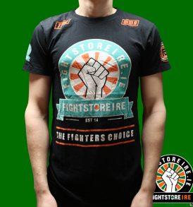 Fightstore Ireland x Fightlab Tee - Black