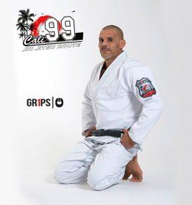 Grips Cali 99 BJJ Kimono - White
