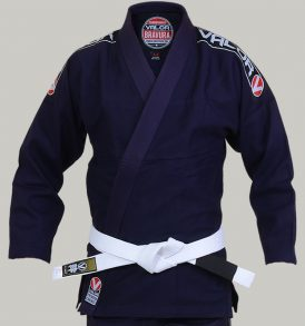 Valor Bravura BJJ Gi - Navy with Free White Belt