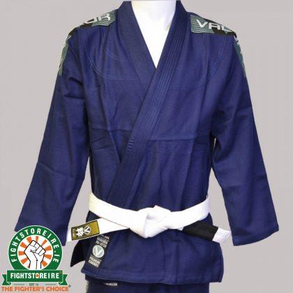 Valor Bravura BJJ Gi - Navy with Free White Belt