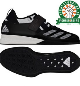 Adidas Crazy Power Weightlifting Shoes - Black/White