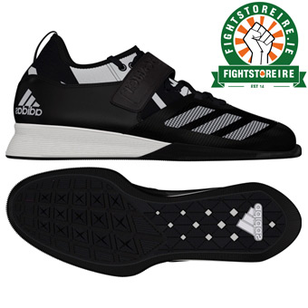 2953ae85c9e4 Adidas Crazy Power Weightlifting Shoes - Black White