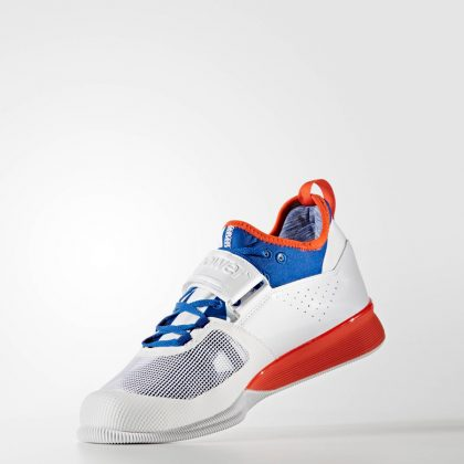 afc5ac2e6b5 Adidas Crazy Power Weightlifting Shoes - White Red Blue - Fight ...