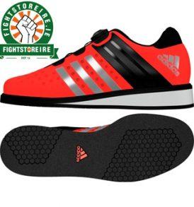 Adidas Drehkraft Weightlifting Shoes - Solar Red
