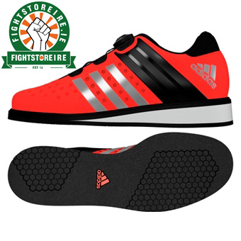 Adidas Drehkraft Weightlifting Shoes - Solar Red - Fight Store IRELAND 9f0ef0413