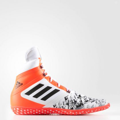 Adidas Flying Impact Shoes - White/Red