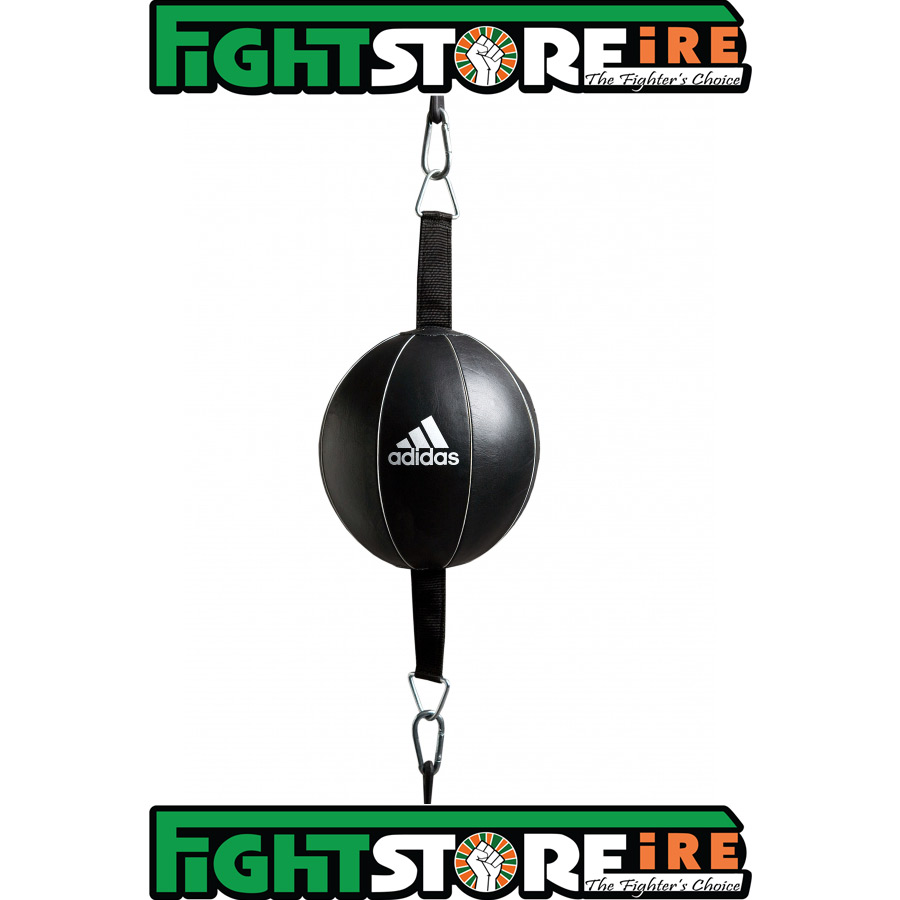 Adidas Leather Double End Speed Ball Black Fight Store