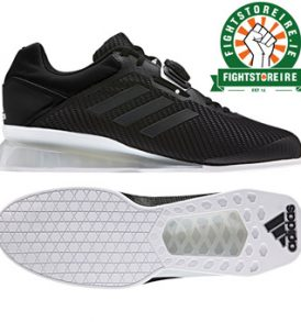 Adidas Leistung 16 II Weightlifting Shoes - Black/White