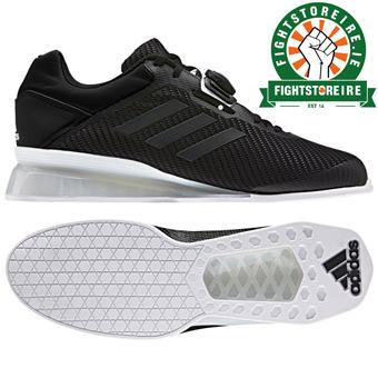 Adidas Leistung 16 II Weightlifting Shoes - Black/White